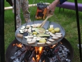 Kochen am offenen Feuer