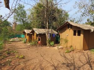 Hütte im Vedic Valley