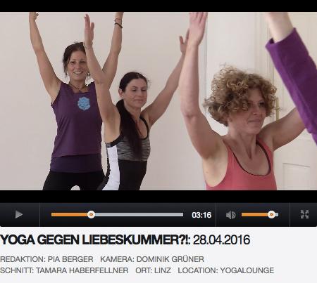Yoga gegen Liebeskummer Linz TV